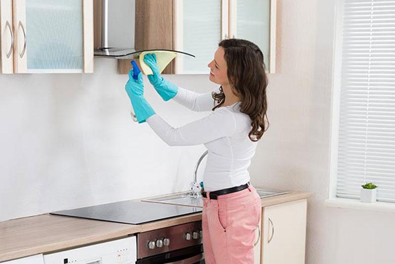 نگهداری از هود آشپزخانه